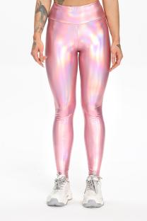 Pink Sportswear Solid Split Joint Skinny High Waist Pencil Bottoms