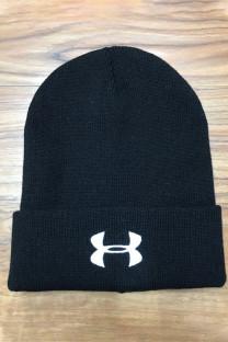 Black Fashion Street Embroidery Split Joint Hat