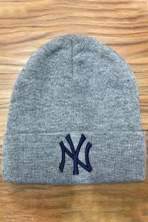 Light Gray Fashion Street Embroidery Split Joint Hat