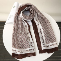 Red Fashion Casual Print Split Joint Scarf