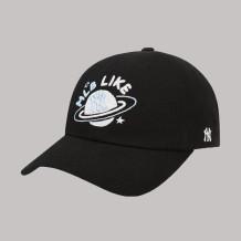 Black Fashion Street Letter Embroidered Hat