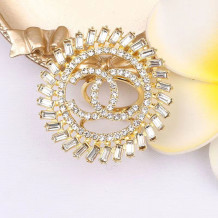 Gold Fashion  Simplicity Solid Hot Drill Rings