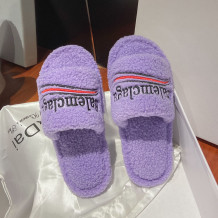 Purple Fashion Casual Bandage Letter Opend Comfortable Shoes