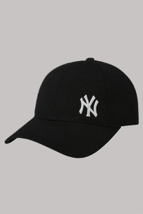 Black Fashion  Simplicity Embroidery Letter Hat