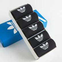 Black Fashion Sportswear Print Split Joint Sock