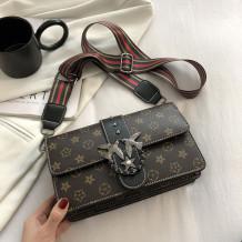 Black Fashion Casual Print Split Joint Bags