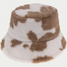 Brown Fashion Casual Print Hat