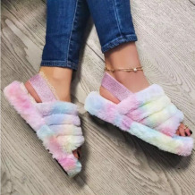 Colour Fashion Casual Round Comfortable Shoes