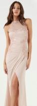 Pink Casual Sleeveless Straight Long Print Dresses