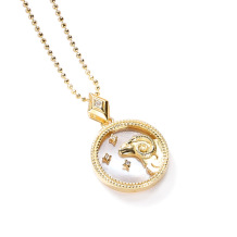 Aries Fashion Solid Zodiac Necklace