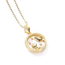 Cancer Fashion Solid Zodiac Necklace