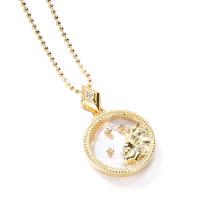 Leo Fashion Solid Zodiac Necklace