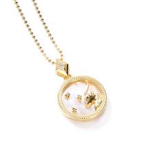 Capricorn Fashion Solid Zodiac Necklace