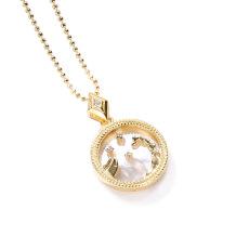 Scorpio Fashion Solid Zodiac Necklace