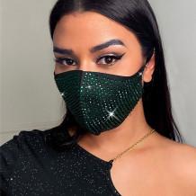 Green Fashion Casual Hot Drilling Mask