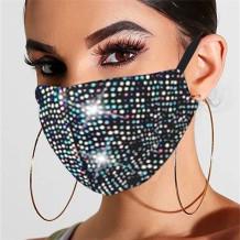 Colour Fashion Casual Hot Drilling Mask