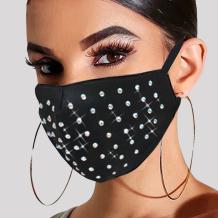 Black Fashion Casual Hot Drilling Mask