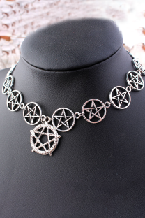 Silver Street The stars Split Joint Necklaces