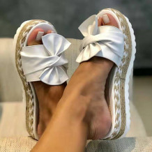 White Fashion Casual Split Joint Comfortable Shoes