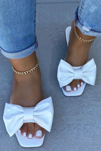 White Fashion Daily Split Joint Opend Comfortable Shoes