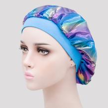 Blue Casual Living Print Split Joint Hat