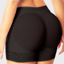 Black Fashion Solid Patchwork Hip Lift Shaping Body Shaping Pants