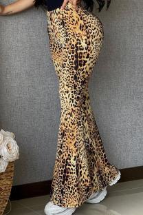 Leopard Print Fashion Street Leopard Speaker Bottoms