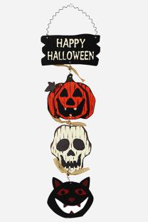 Multicolor Halloween Street Split Joint Frenulum Skull Head Character Costumes