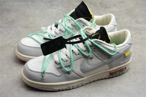 OFF WHITE x Nike Dunk SB Low The 50 M1602-114(SP batch)