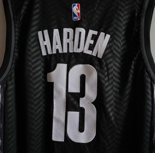 NBA NIKE Jersey  Bklynnets NO.13 black