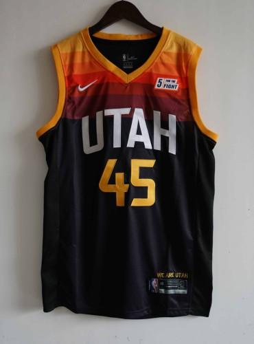 NBA NIKE Jersey Utah NO.45  black