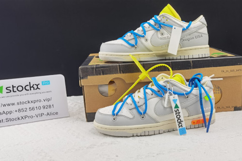 Off-White x Nike Dunk Low「THE 50」DM1602-112(SP Batch)