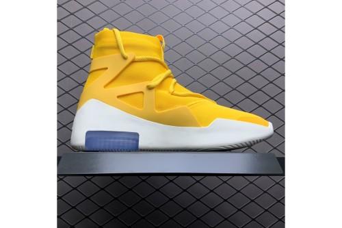 Nike Air Fear Of God 1 Yellow AR4237-700(SP batch)