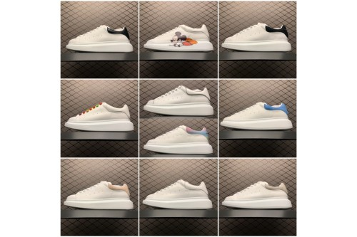 Alexander McQueen sole sneakers White glue(SP batch)