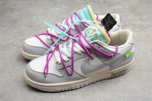 """Off-White x Nike Dunk Low """"21 of 50"""" DM1602-100(SP batch)"""