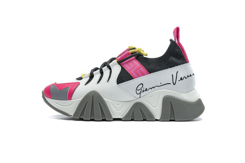 Versace TRIGRECA Jogging White Grey Pink(SP batch)