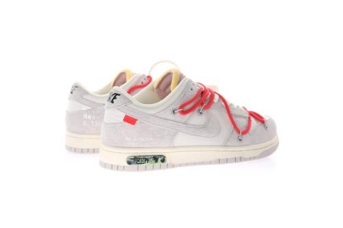 OFF WHITE x Nike Dunk SB Low The 50 NO.33 DJ0950-118(SP batch)