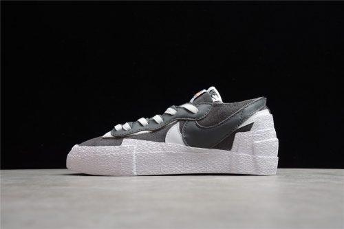 Sacai x Nike Blazer Low Dark Grey White DD1877-002
