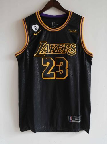 NIKE Jersey Lakers  NO.23 black