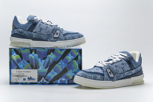 Louis Vuitton 20ss Trainer Blue Denim(SP batch)