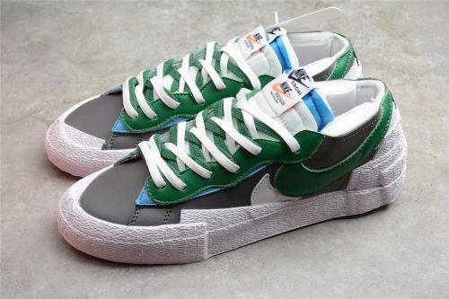 Nike Blazer Low sacai Medium Grey Classic Green DD1877-001