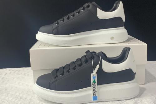 Alexander McQueen sole sneakers Black White(SP batch)