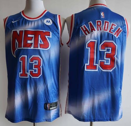 NBA NIKE Jersey Nets NO.13 blue