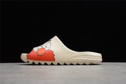 (Free Shipping) Yeezy Slide KAWS Bone White Red Purple Shoes FV6346