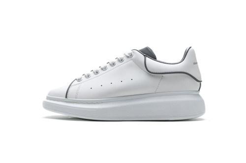 Alexander McQueen Sneaker White Grey  553770 9076(SP batch)