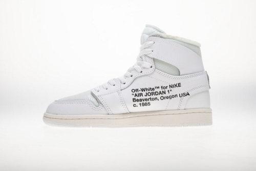 Jordan 1 Retro High Off-White White AQ0818-100(SP batch)