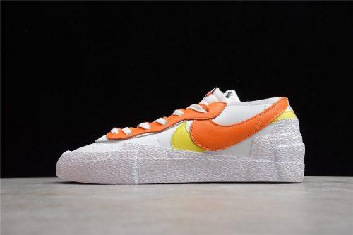 Nike Blazer Low sacai White Magma Orange DD1877-100