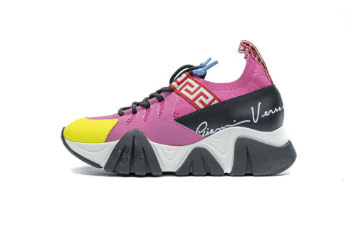 Versace TRIGRECA Jogging Black Yellow Pink(SP batch)