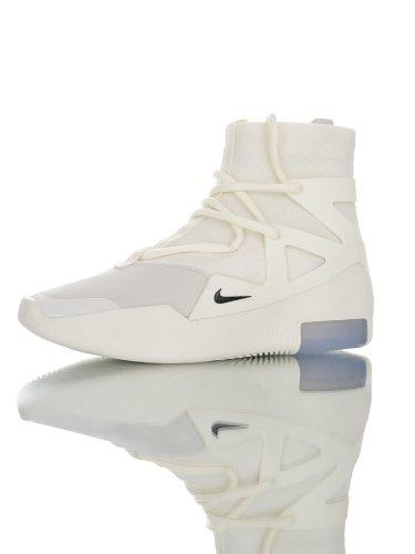 Nike Air Fear Of God 1 Sail Black FOG AR4237-100(SP batch)