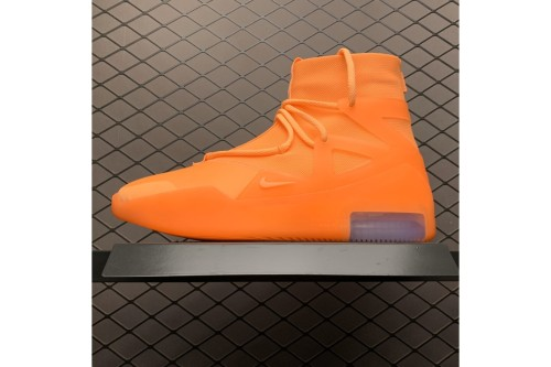 Nike Air Fear Of God 1 Orange Pulse AR4237-800(SP batch)
